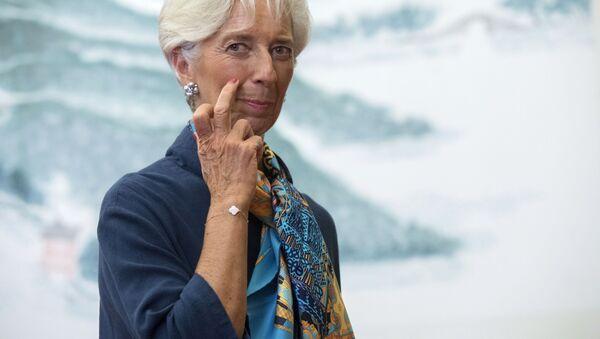 Szefowa Międzynarodowego Funduszu Walutowego Christine Lagarde - Sputnik Polska