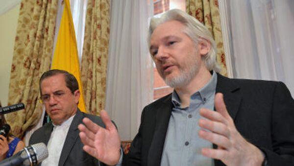 Założyciel witryny WikiLeaks Julian Assange - Sputnik Polska