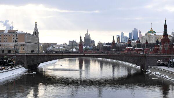 Widok na Kreml, Moskwa - Sputnik Polska