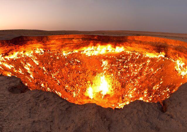 Wrota piekieł, Turkmenistan