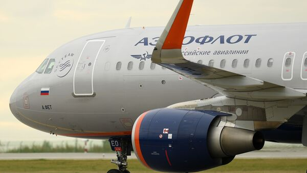 Airbus-A320, Aerofłot - Sputnik Polska