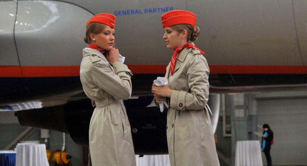 Stewardessa Aeroflotu