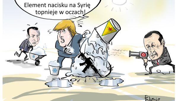 Element nacisku topnieje w oczach - Sputnik Polska