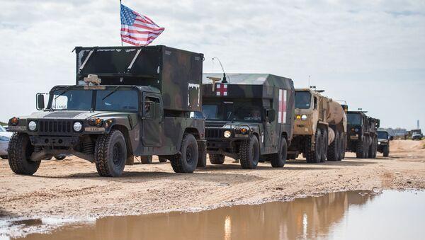 Amerykańskie wojsko podczas manewrów w Izraelu - Sputnik Polska