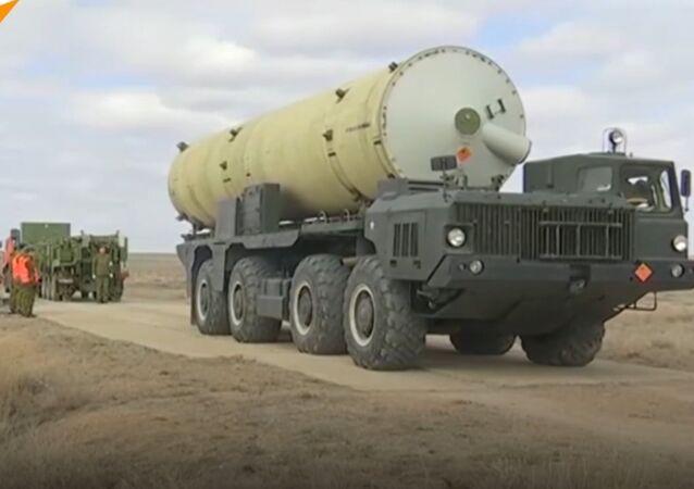 Pocisk systemu obrony przeciwrakietowej