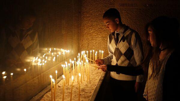 Chrześcijanie w Syrii obchodzą Wielkanoc - Sputnik Polska