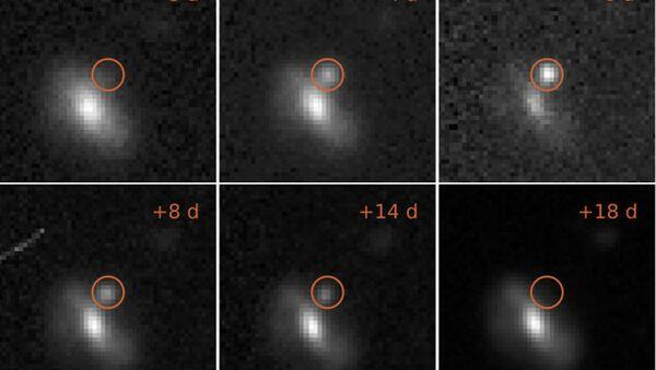 Astronomlowie z University of Southampton odnotowali 72 jasne i krótkotrwałe błyski - Sputnik Polska