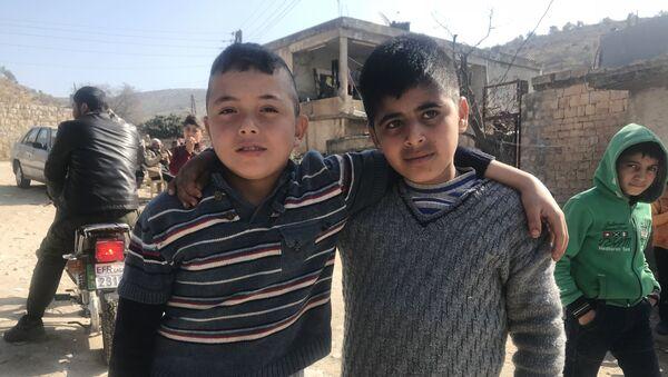 Dzieci z Afrinu - Sputnik Polska