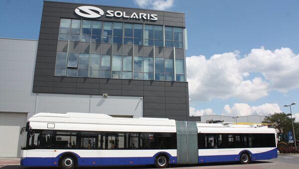 Biuro firmy Solaris Bus&Coach S.A. - Sputnik Polska