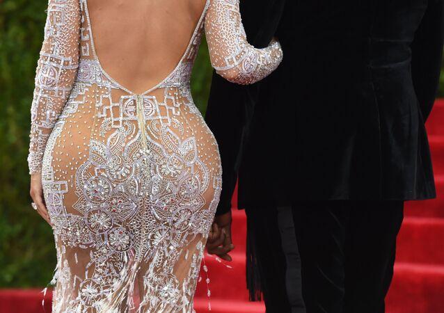 Amerykańska aktorka Kim Kardashian