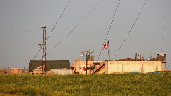 Amerykańska baza wojskowa w Syrii - Sputnik Polska