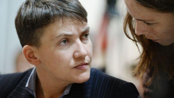 Nadieża Sawczenko i jej siostra Wiera - Sputnik Polska
