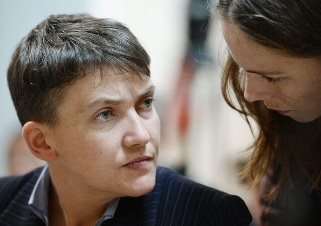 Nadieża Sawczenko i jej siostra Wiera