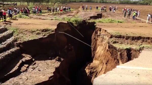 Rozryw ziemi w Afryce - Sputnik Polska