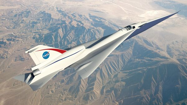 Model naddźwiękowego samolotu - Sputnik Polska