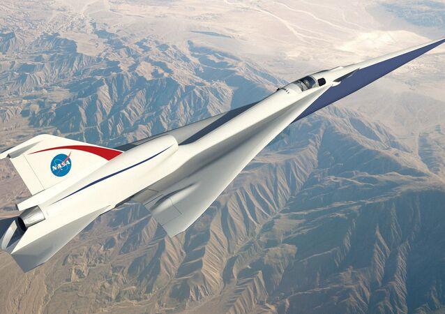Model naddźwiękowego samolotu