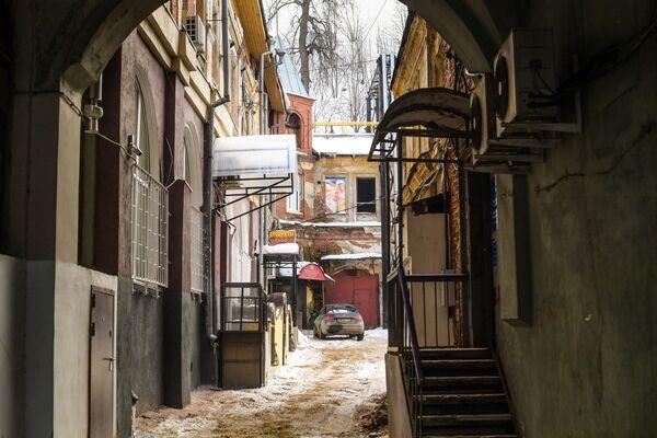 Jeden z dziedzińców w Niżnym Nowogrodzie - Sputnik Polska