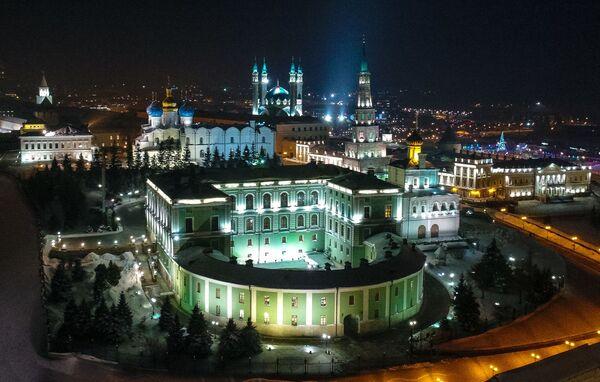 Widok na Kreml Kazański - Sputnik Polska