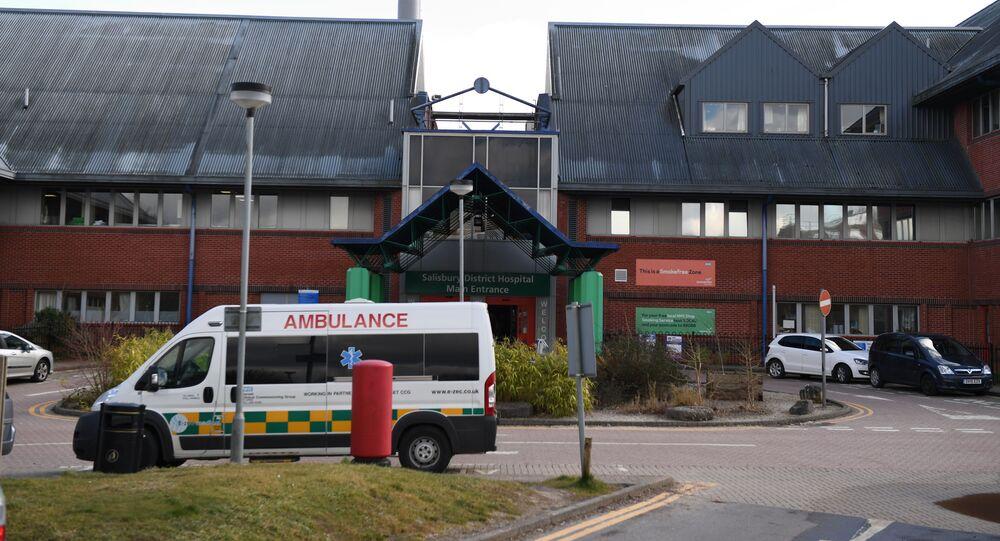 Szpital w Salisbury, w którym przebywa Siergiej Skripal i jego córka