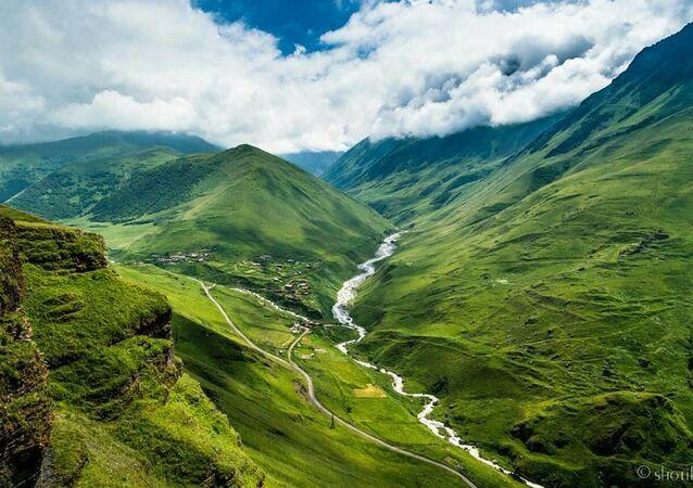 Wąwóz Digorski w Osetii Północnej