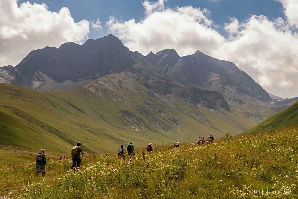 Zrugski wąwóz w Osetii Północnej