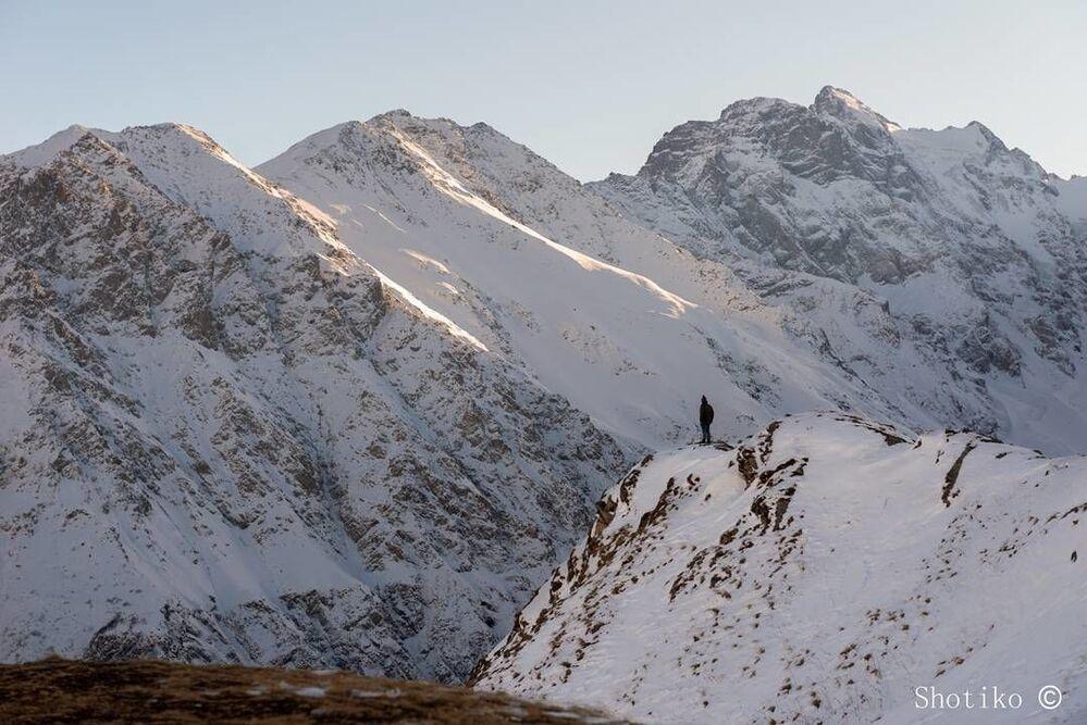 Wąwoz Kurtatyński w Osetii Północnej