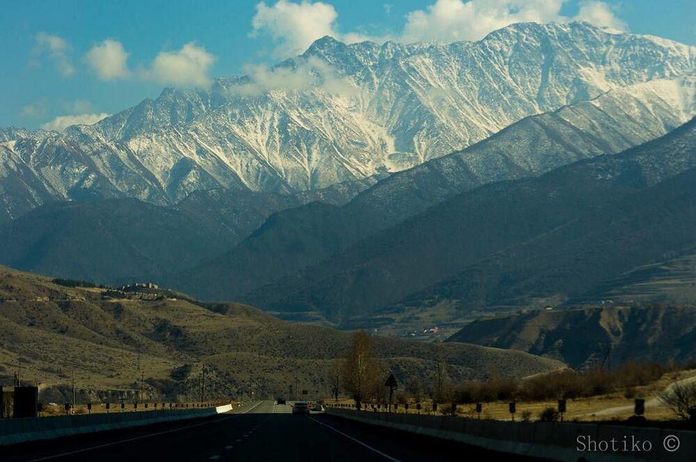 Pejzaż Osetii Północnej