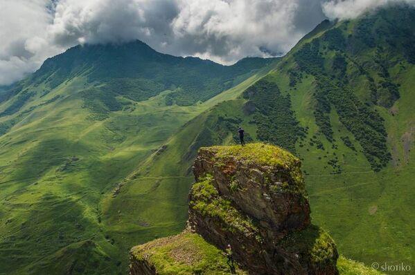Okolice wsi Kamunta i Dunta Uallagkom w wąwozie Digorskim, Osetia Północna - Sputnik Polska