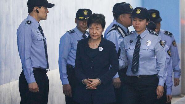 Była prezydent Korei Południowej Park Geun-hye - Sputnik Polska