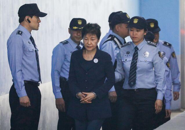 Była prezydent Korei Południowej Park Geun-hye