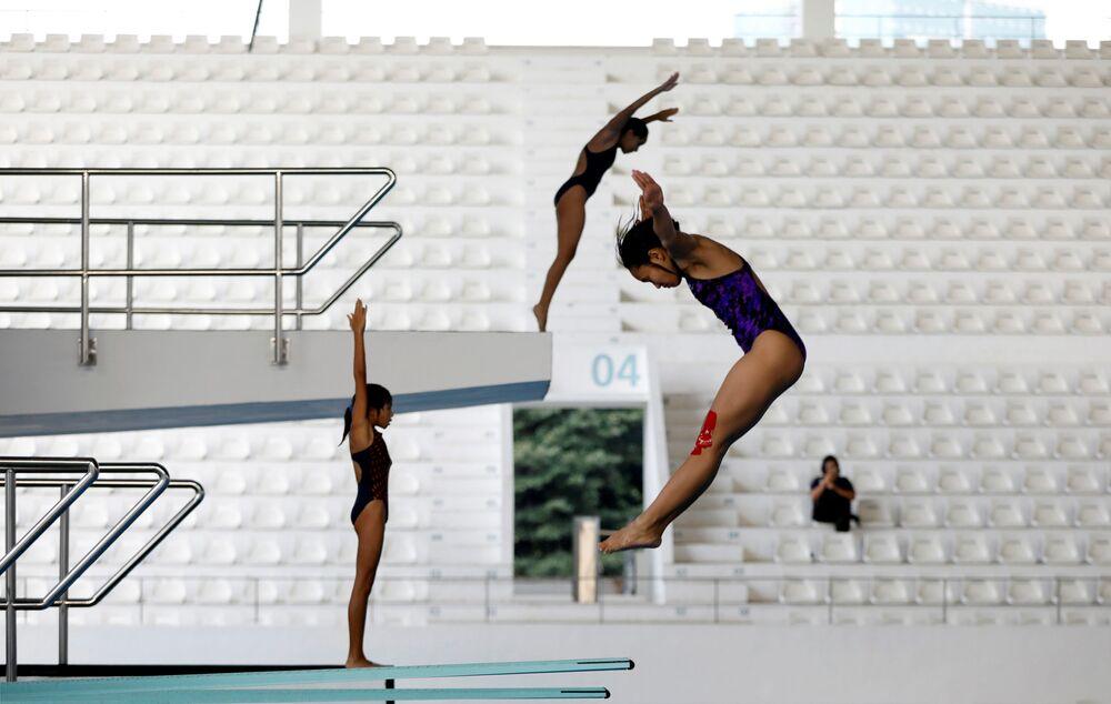 Przygotowania do zbliżających się Igrzysk Azjatyckich 2018 w Dżakarcie