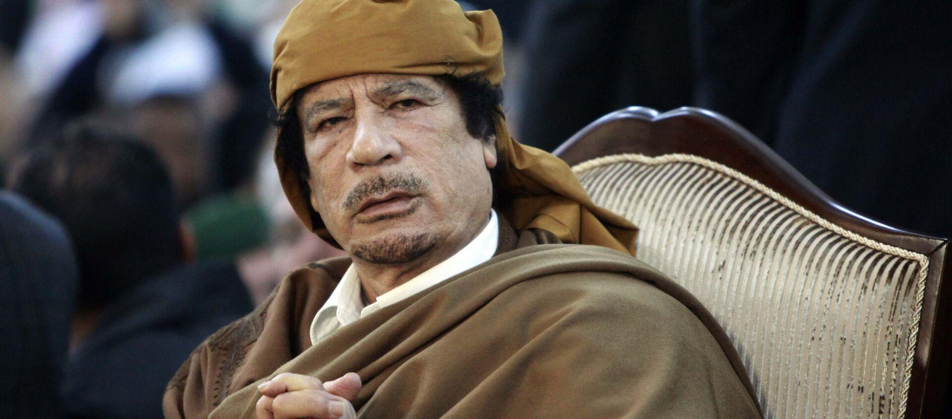 Muammar al-Kaddafi - Sputnik Polska, 1920, 15.02.2021