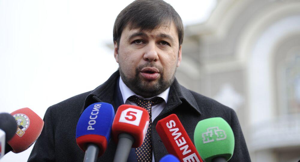 Wiceprzewodniczący Radu Ludowej Donieckiej Republiki Ludowej Denis Puszylin
