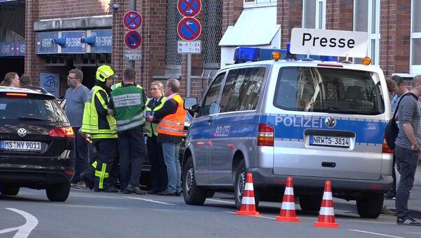 W Niemczech ciężarówka wjechała w tłum - Sputnik Polska