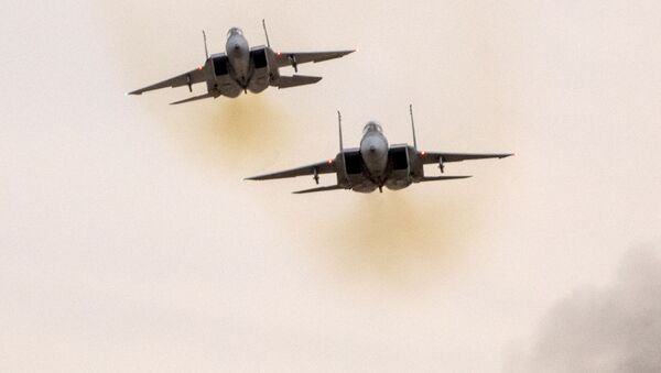 Истребитель F-15 ВВС Израиля - Sputnik Polska