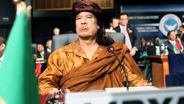 Muammar al-Kaddafi - Sputnik Polska