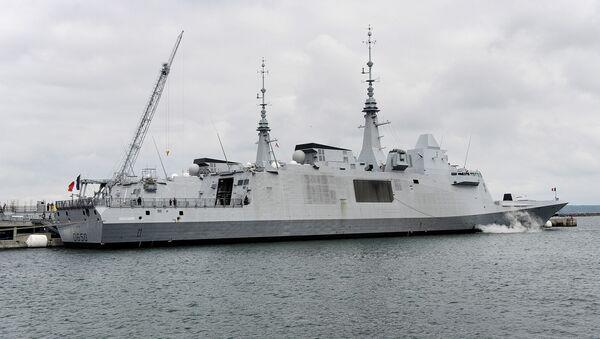 Francuska fregata Aquitaine - Sputnik Polska