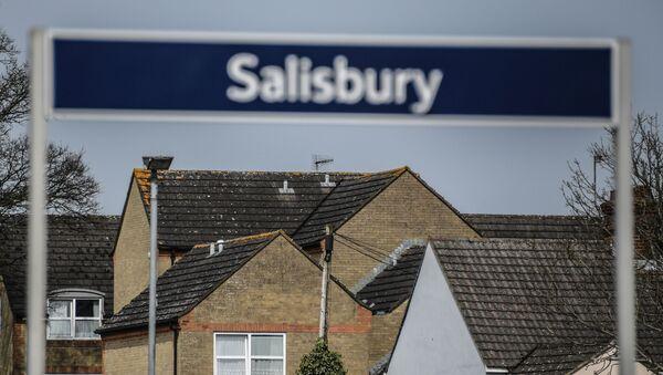 Miasto Salisbury w Wielkiej Brytanii, gdzie zostali otruci Siergiej i Julia Skripale - Sputnik Polska