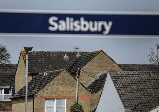 Miasto Salisbury w Wielkiej Brytanii, gdzie zostali otruci Siergiej i Julia Skripale