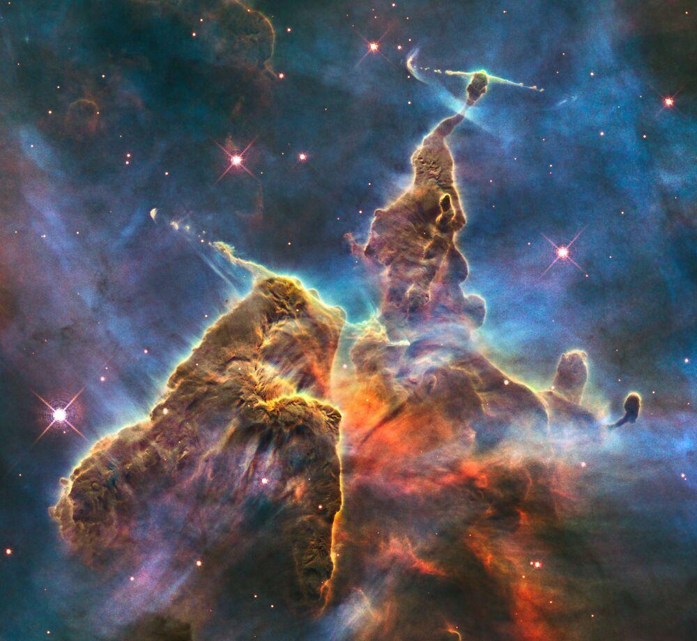 Mgławica Carina - NGC 3372