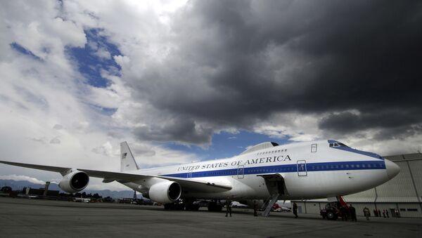 """Boeing E-4B Nightwatch zwany samolotem """"sądnego dnia"""" - Sputnik Polska"""