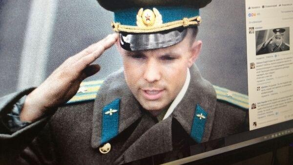 Jurij Gagarin w kolorze - Sputnik Polska