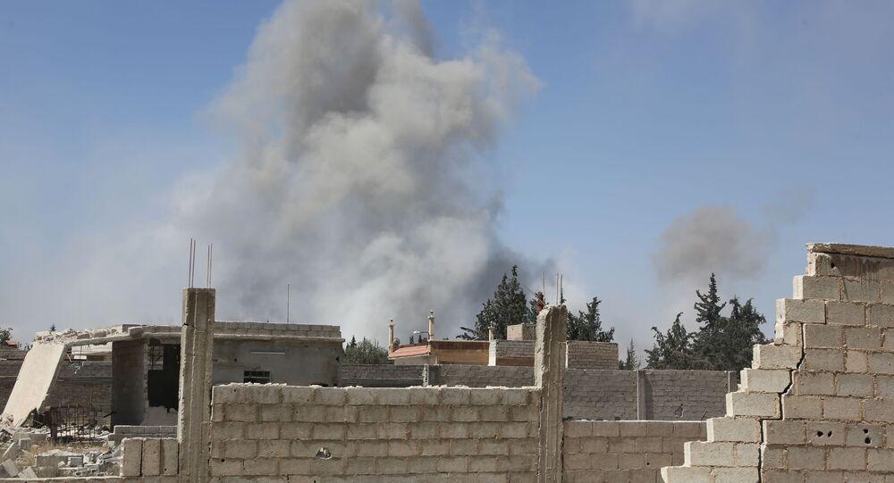 Seria nalotów koalicji na obiekty w Syrii