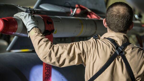Pilot wielozadaniowego myśliwca Tornado po powrocie z operacji w Syrii - Sputnik Polska