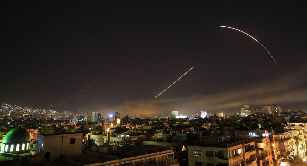 Nocne naloty USA, Francji i Wielkiej Brytanii na Syrię
