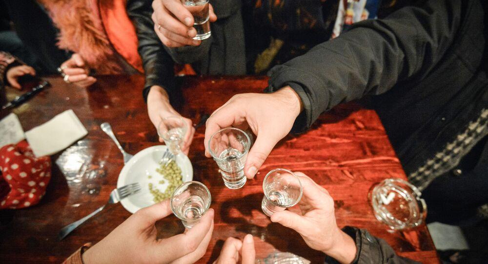 Bar piwny w Moskwie