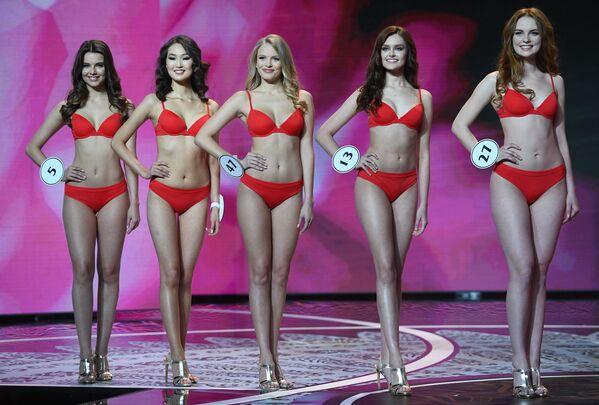 Finalistki konkursu Miss Rosji 2018 - Sputnik Polska