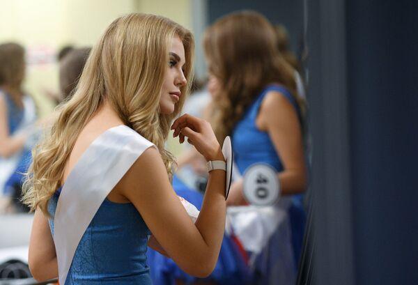 Finalistka konkursu Miss Rosji 2018 - Sputnik Polska