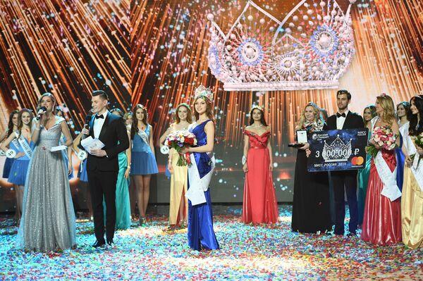 Miss Rosji 2018 Julia Polaczychina - Sputnik Polska