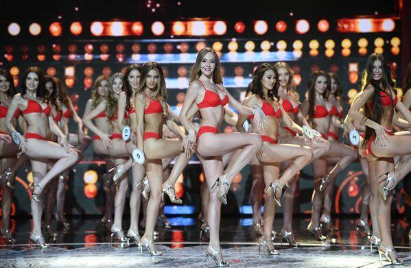 Finalistki komkursu Miss Rosji 2018 - Sputnik Polska